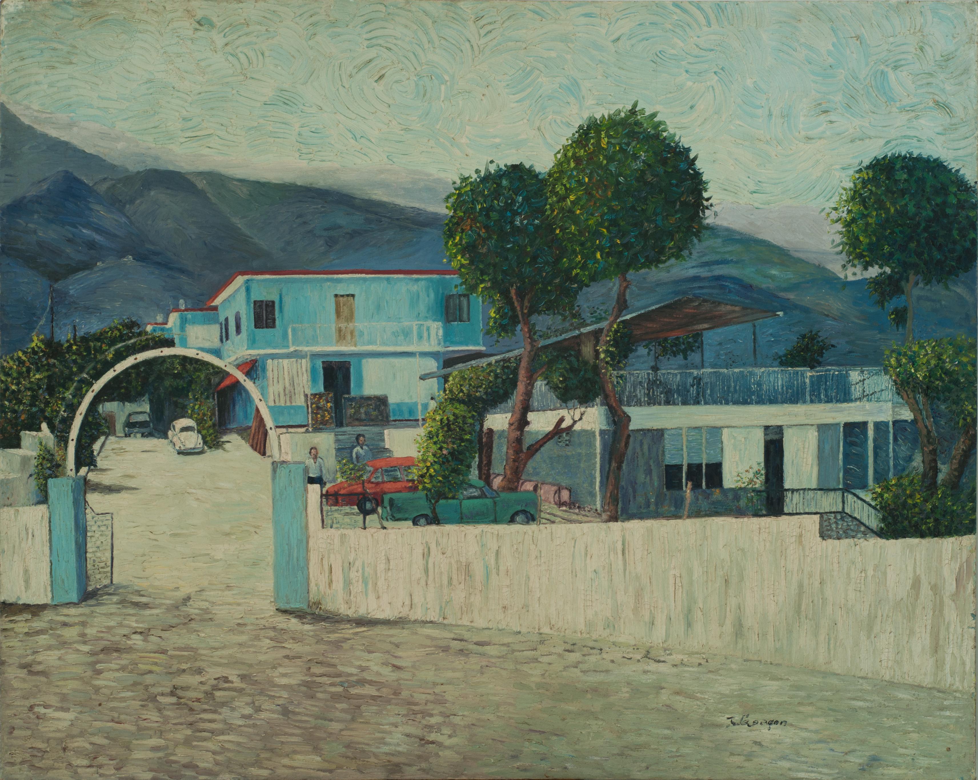 Garcon Jacquelin 32X40 #80-3-96 Canvas C