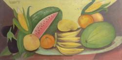 Desruisseau Rose Marie 18X36 #30-3-96 canvas 1979