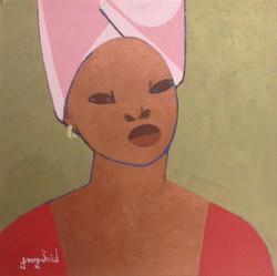 Gabriel Jacques 20X20 #2-1-93 canvas
