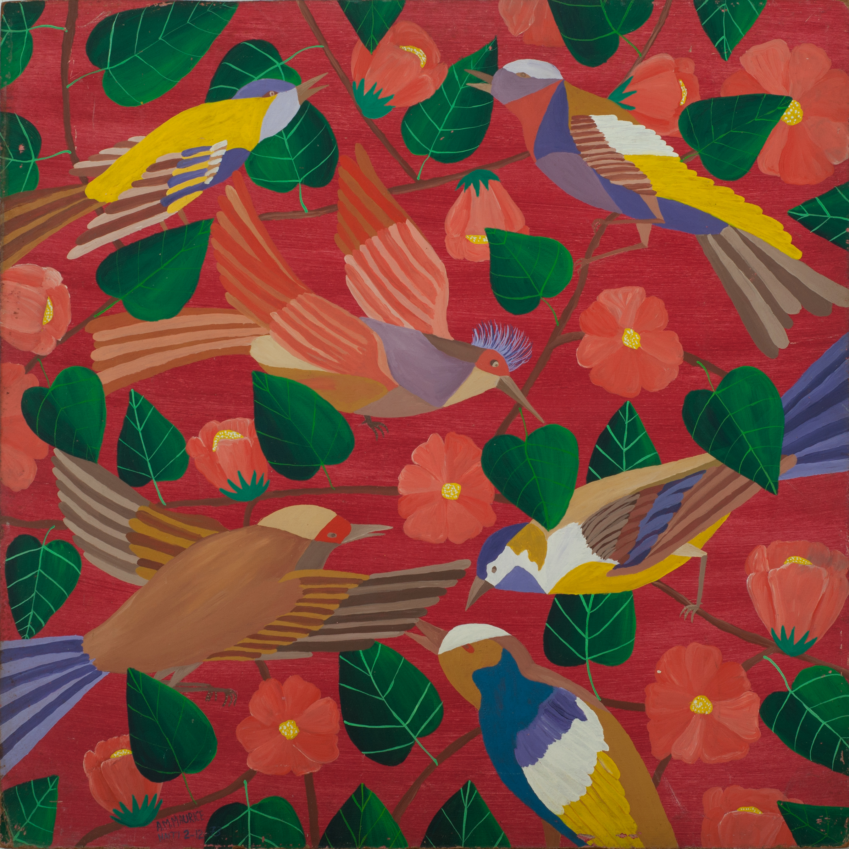Maurice A.M. 24X24 #101-3-96 Board 1973.