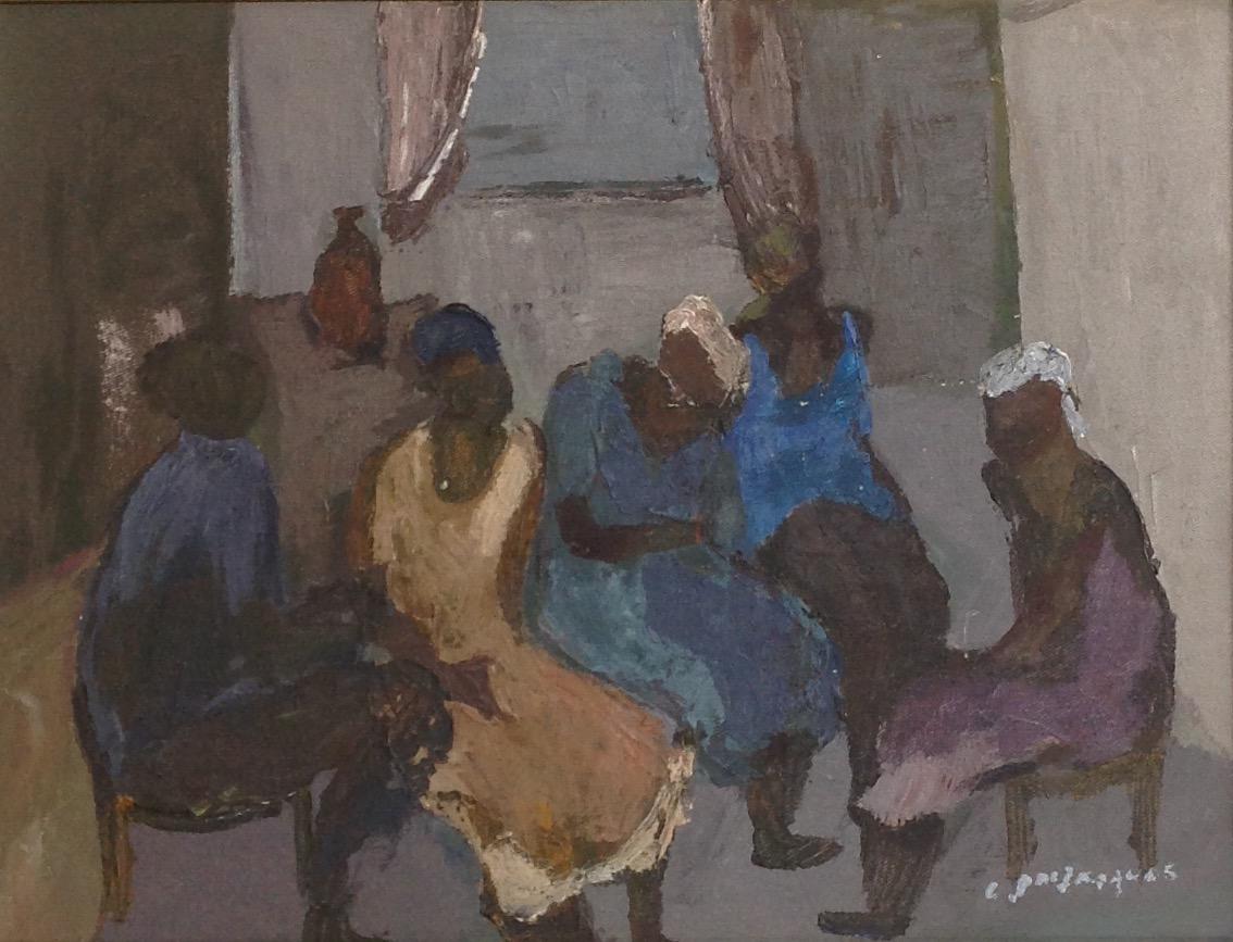 Jn Jacques Carlo 12X16 #72-3-96 canvas