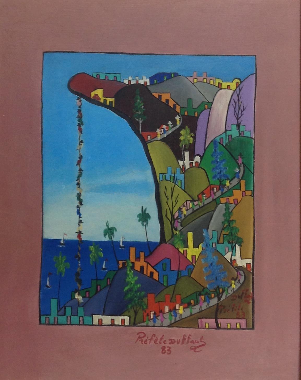Duffaut Prefete 14X11 #43-3-96 canvas 1983