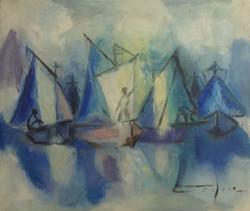 Dieudonne Cedor 12X14 #131-3-96 canvas