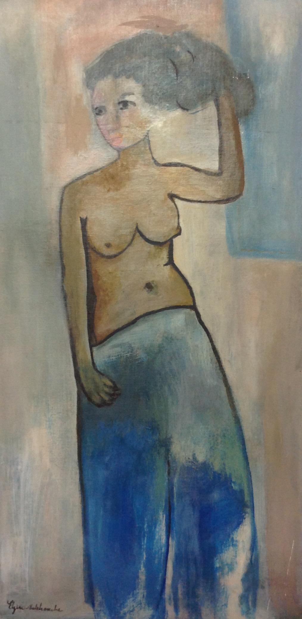 Malebranche Elzire  30X15 #23-3-96 canvas
