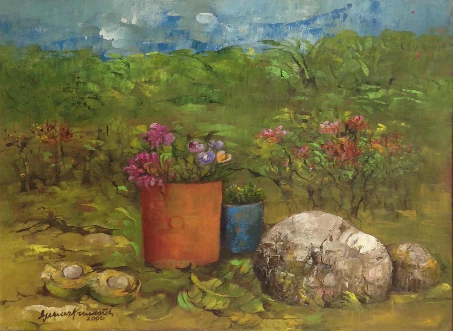Armand Gesner 12X16 #49-3-96 2006 canvas
