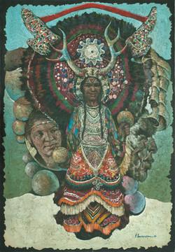 Laurenceau Lyonel  52X36 #75-3-96 Canvas