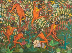 Ismael Saincilus 23X32 #43-3-96 Canvas C
