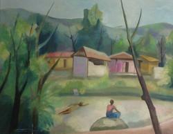 Dieudonne Cedor 23X30 #36-3-96 canvas 1982