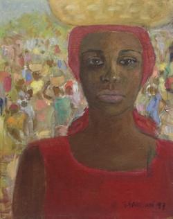 Baussan Tamara 10X8 #40-3-96 canvas 1997