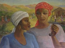 Baussan Tamara 22X30 #24-3-96 canvas 1986