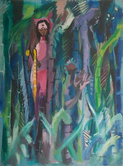 Dieudonne Cedor 48X36 #13-3-96 Canvas 19