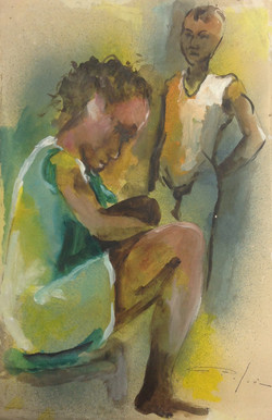 Dieudonne Cedor 12X18 #179-3-96 dessin