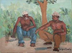 Louis Wilfrid 12X16 #17-3-96 Canvas