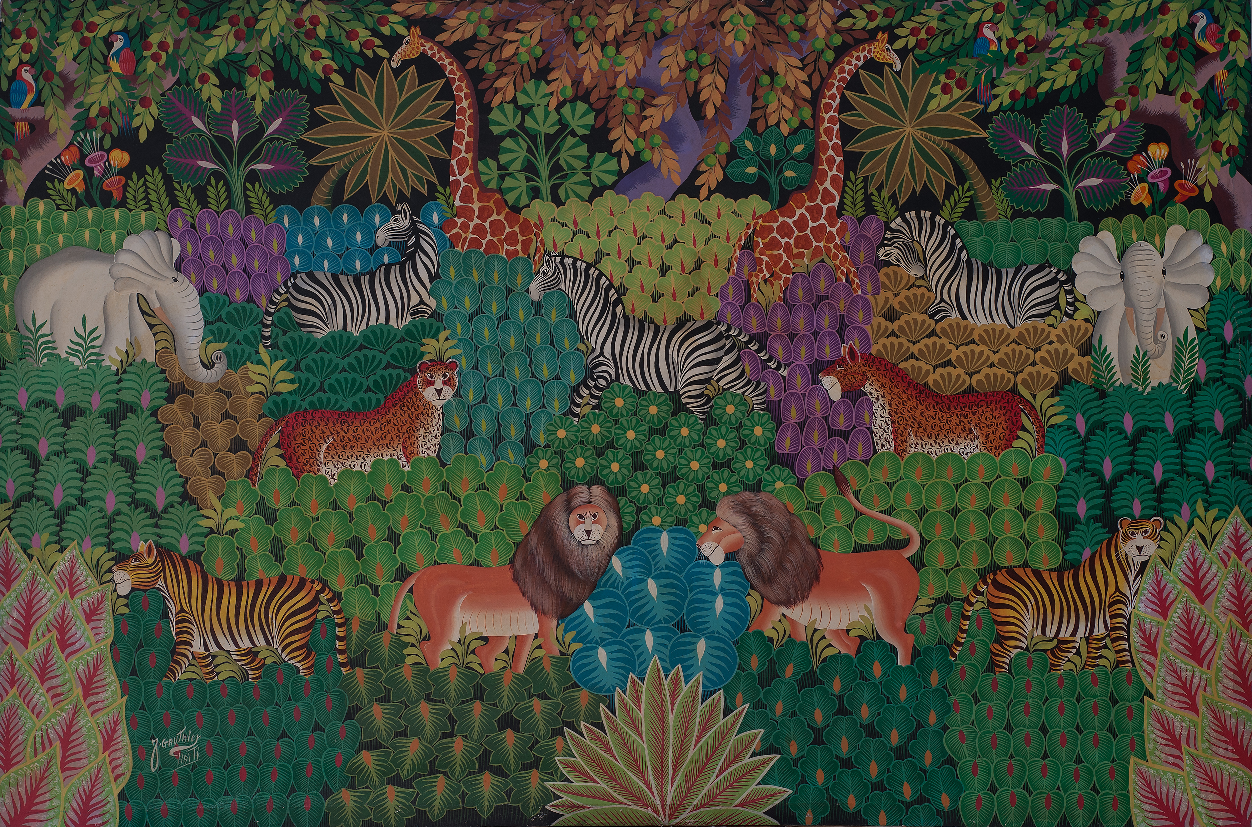 Gauthier Joel 48X72 #59-6-91 Canvas 1988
