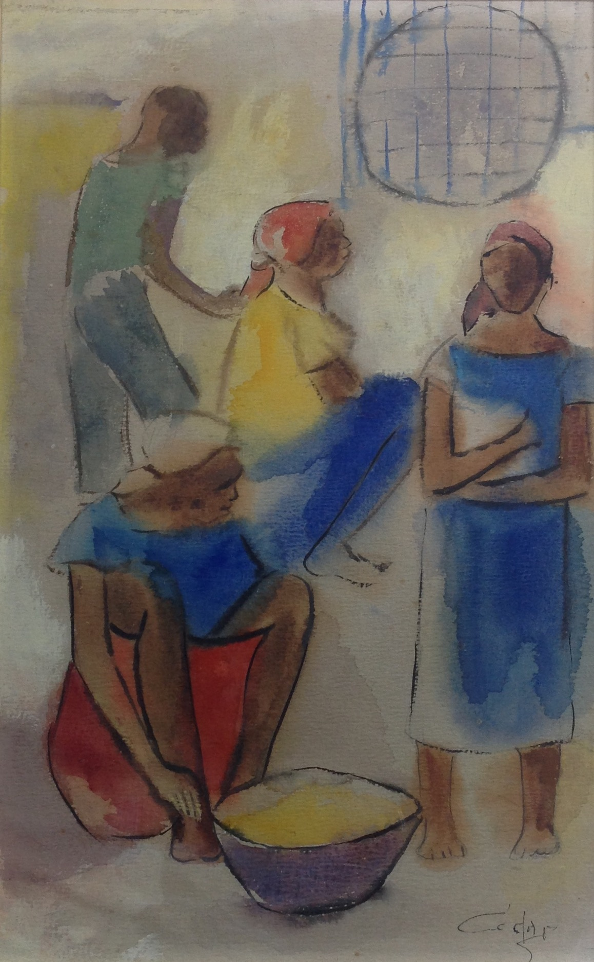 Dieudonne Cedor 12X18 #194-3-96 dessin