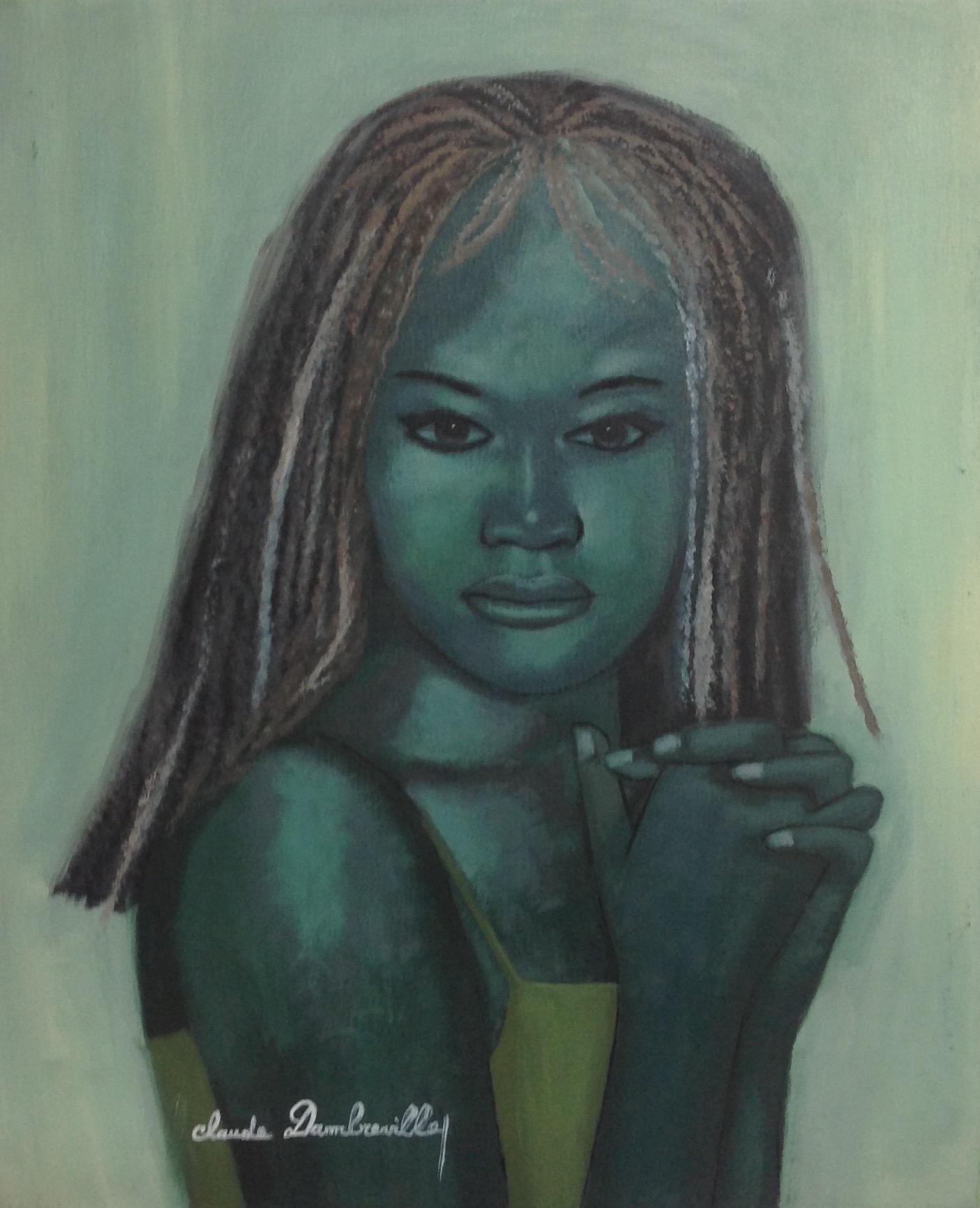 Dambreville Claude 20X24 #160-3-96 canvas 1997