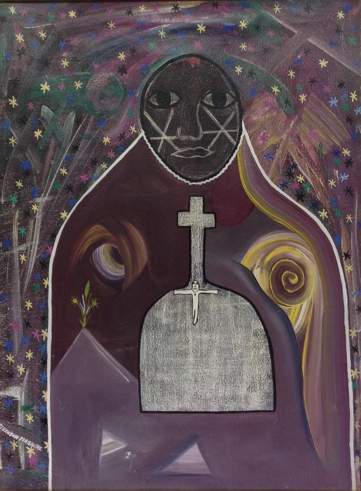 Magloire Stivenson 24X18 #2-3-96 canvas 1988