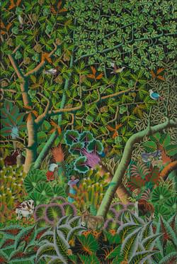 Manigat Serge 60X40 #16-4-90 Canvas 1981