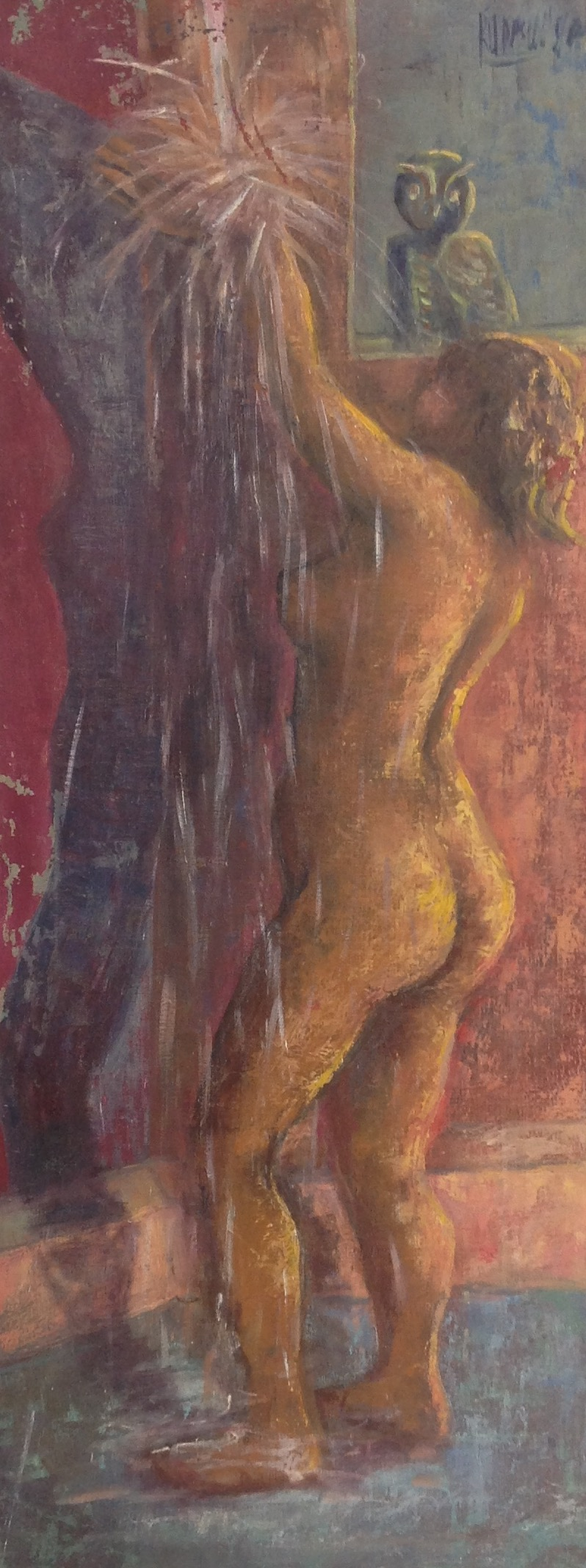 Desruisseau Rose Marie 14X36 #11-3-96 canvas