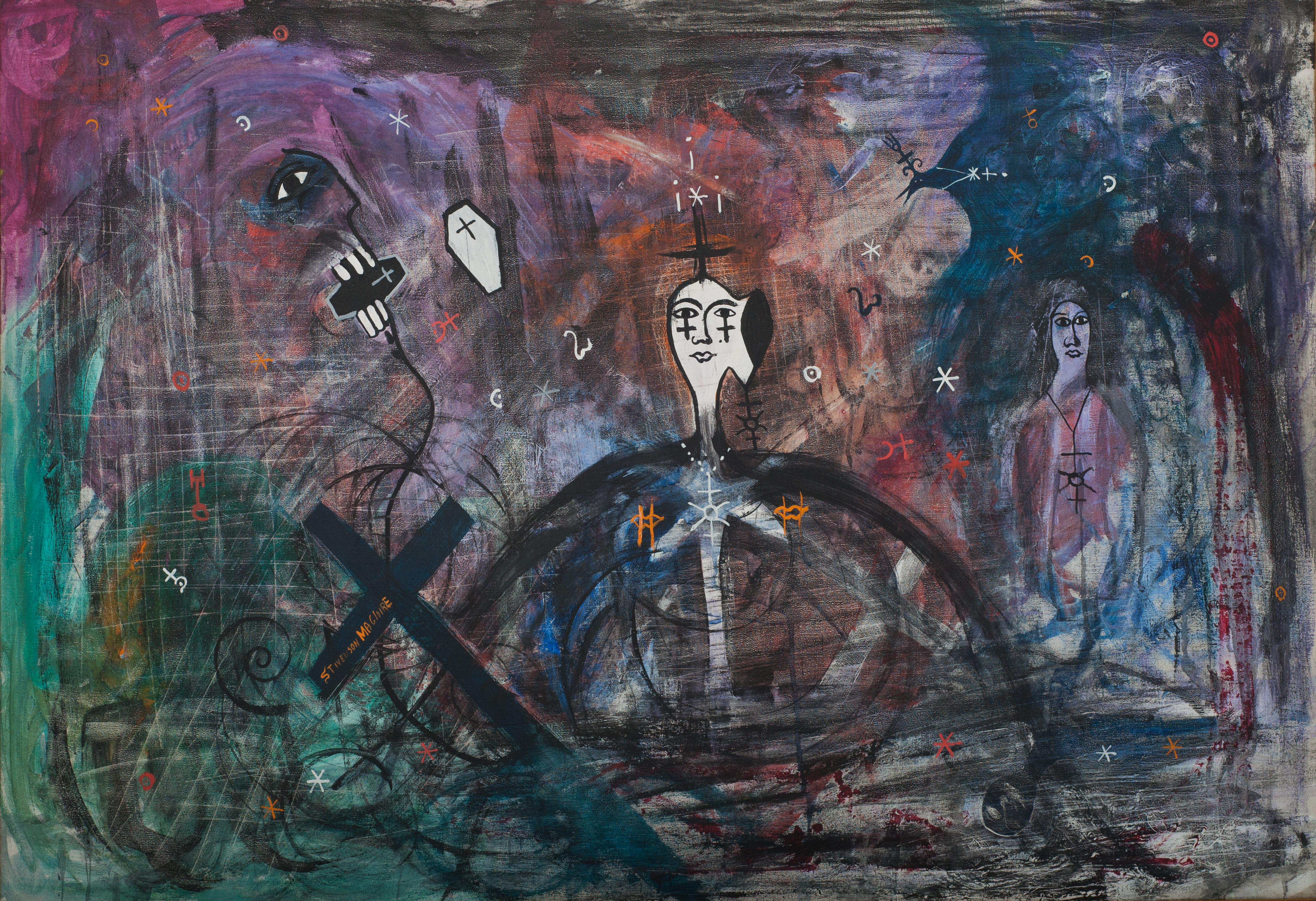Magloire Stivenson 32X46 #10-3-96 Canvas