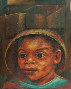 Allen Jonas 20X16 #3-3-96 Canvas 1987