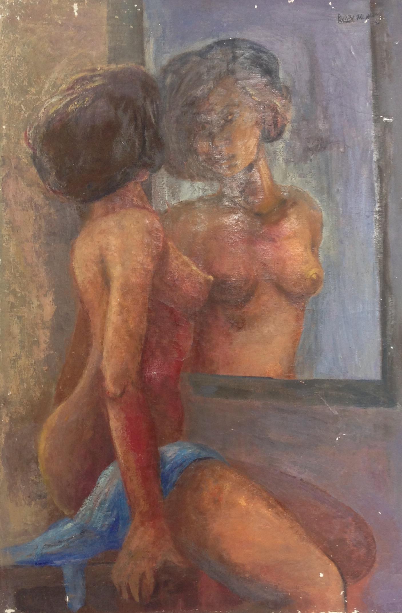 Desruisseau Rose Marie 24X36 #8-3-96 canvas