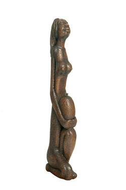 Laratte Georges 4X10X41 #1-3-11 Sculptur