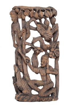 Sculpture:Bois (Anonyme) 4 1:2X17X35 #1.