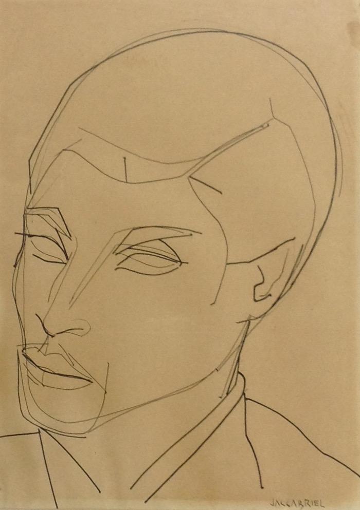 Gabriel Jacques 11X12 #39-3-96 dessin