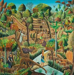 Abellard Gesner 48X48 #4-3-96 Canvas 197