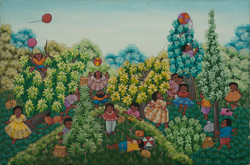 Jean Francoise 24X36 #27-6-91 Canvas 198