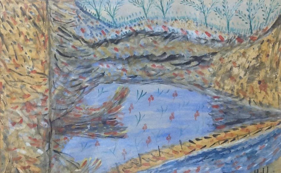 Jn Laurent Joseph 13X20 #21-3-96 Aquarelle