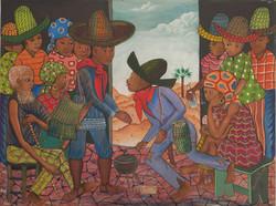 Ismael Saincilus 30X40 #71-3-96 Canvas 1