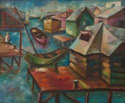 Valcin Fravange 20X24 #18-3-96 Board 197