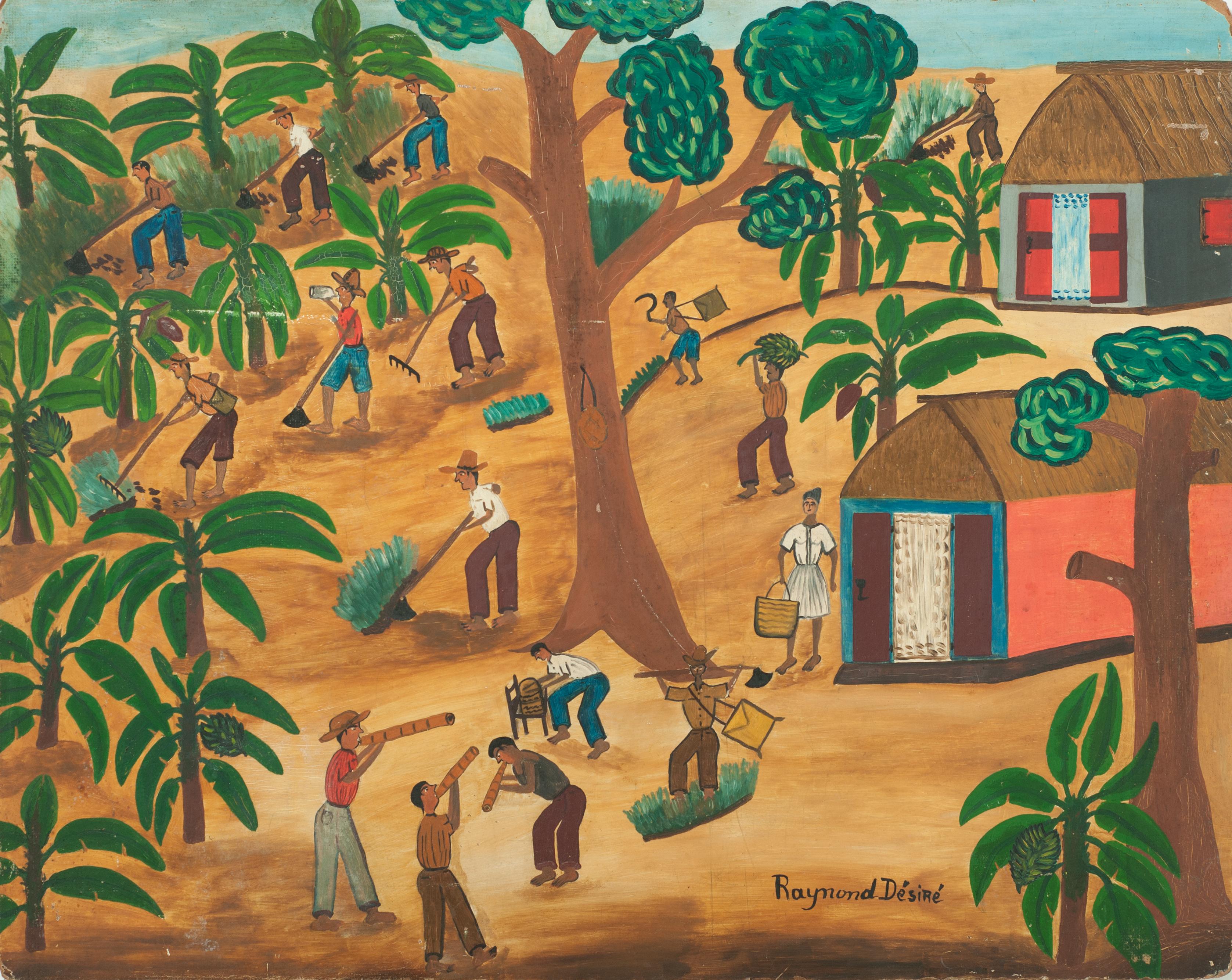 Desire Raymond 24X30 #29-3-96 Canvas 198