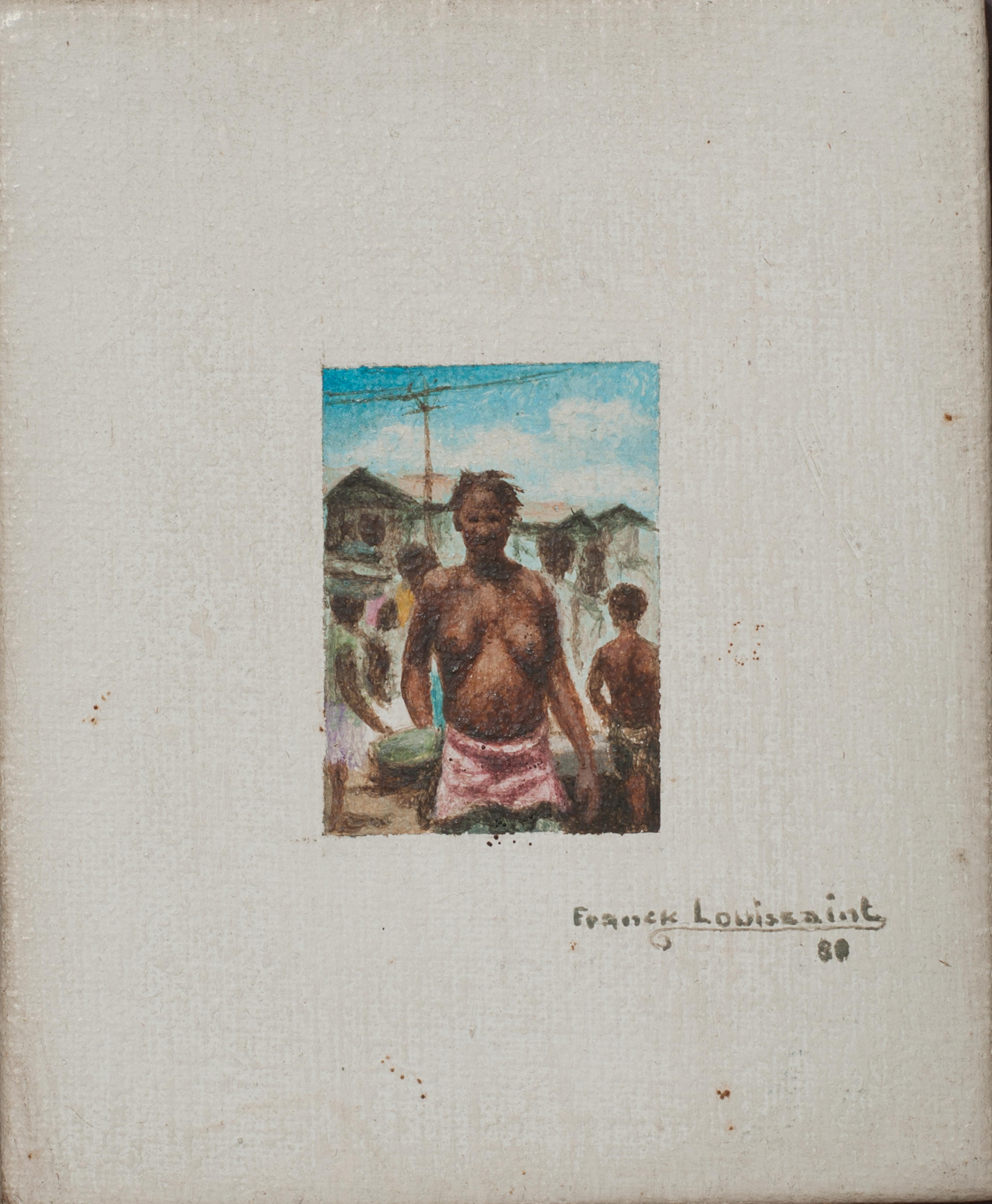 Louissaint Franck 4 1:2X4 #1 Board 1980.