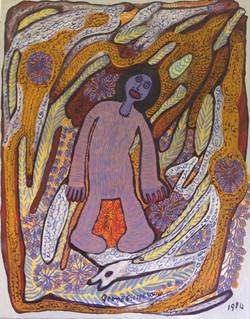 Pierre-Louis Prospere 30X24 #11-3-96 canvas 1984