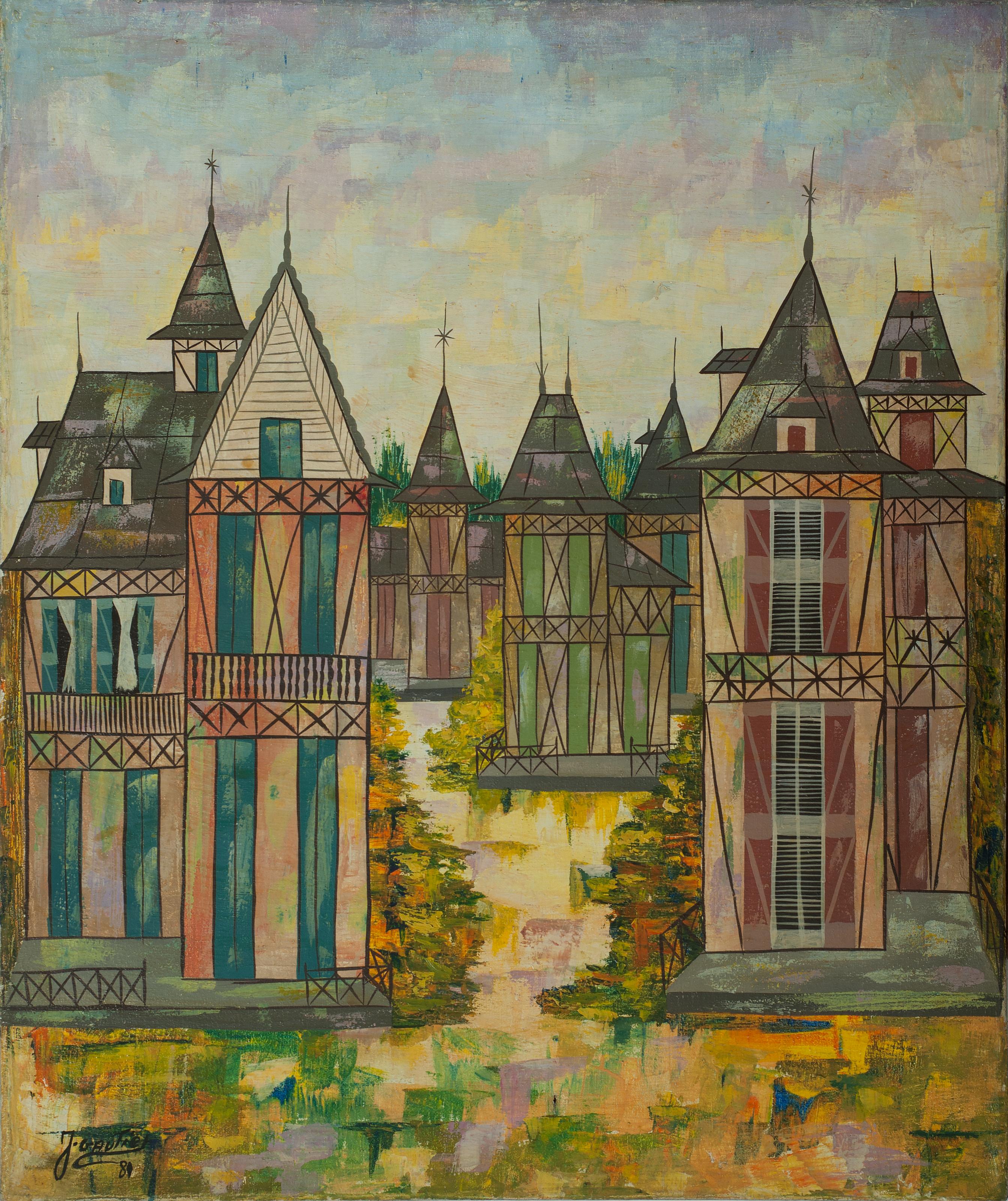 Gauthier Joel 24X20 #26-3-96 Canvas 1981