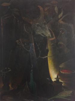 Gourgue Jacques E. 30X40 #53-3-96 canvas