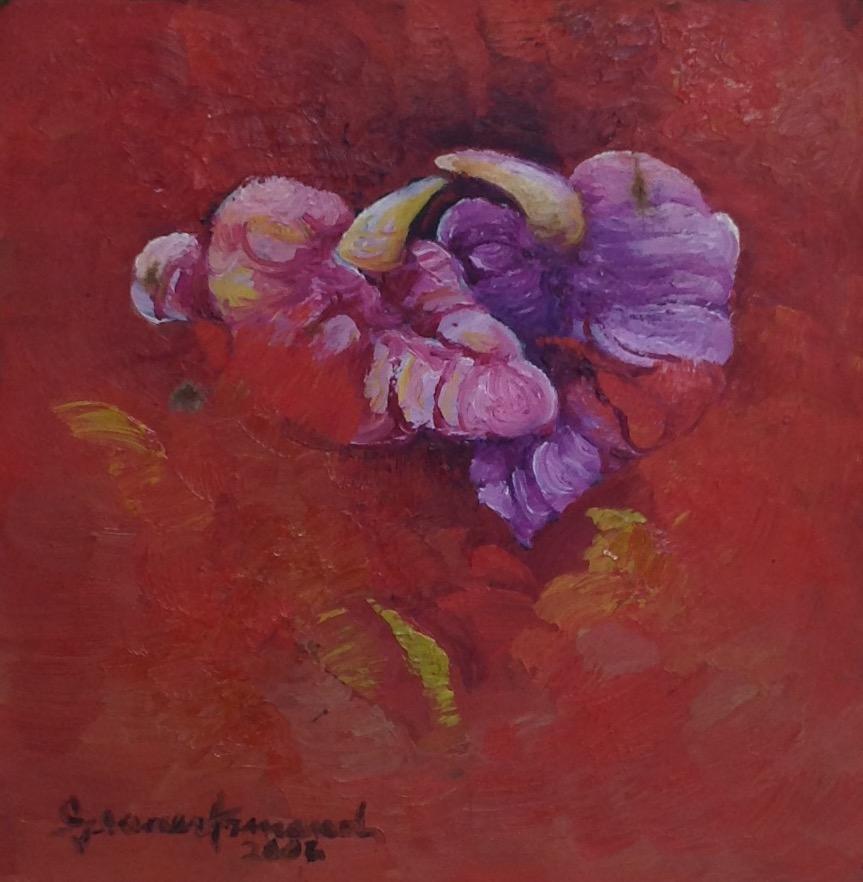 Armand Gesner 6X8 #1 canvas 2002