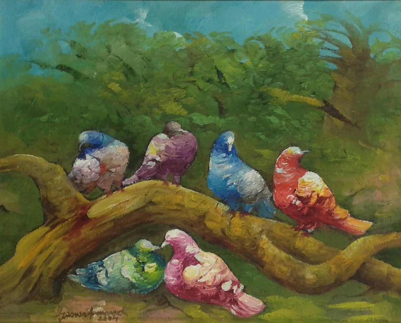 Armand Gesner 8X10 #40-3-96 canvas 2004