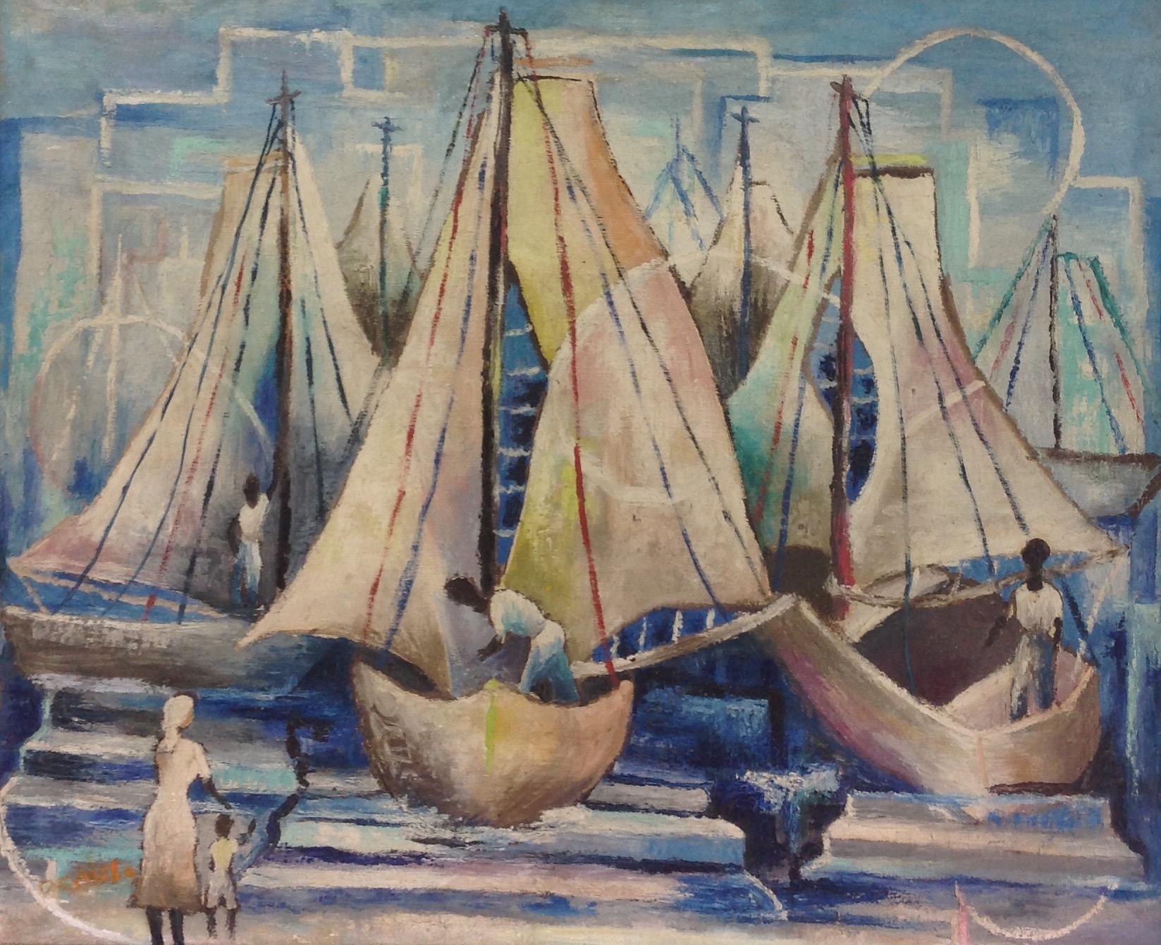 Emile Denis 26X32 #9-3-96 canvas