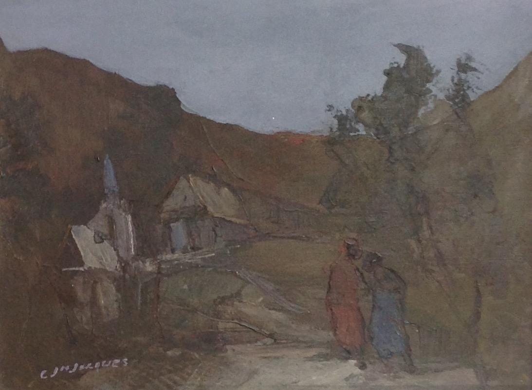Jn Jacques Carlo 12X16 #107-3-96 canvas