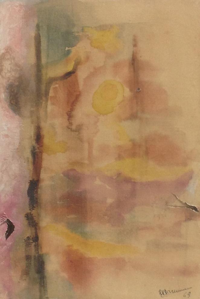Desruisseau Rose Marie 13X16 #40-3-96 dessin 1969