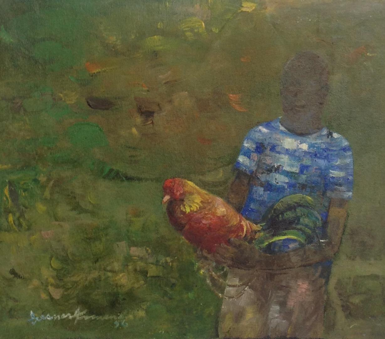 Armand Gesner 10X11 1_2 canvas #5-3-96 1996
