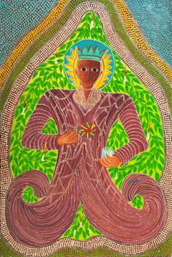Damas Fritz 36X24 #1-10-88 Canvas 1980