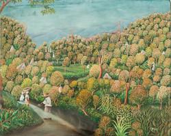 Jn Gilles Joseph 24X30 #25-3-96  Canvas