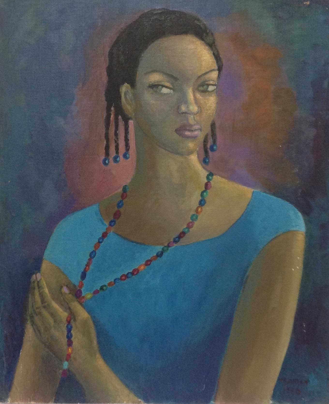 Baussan Tamara 24X20 #25-3-96 canvas 1980