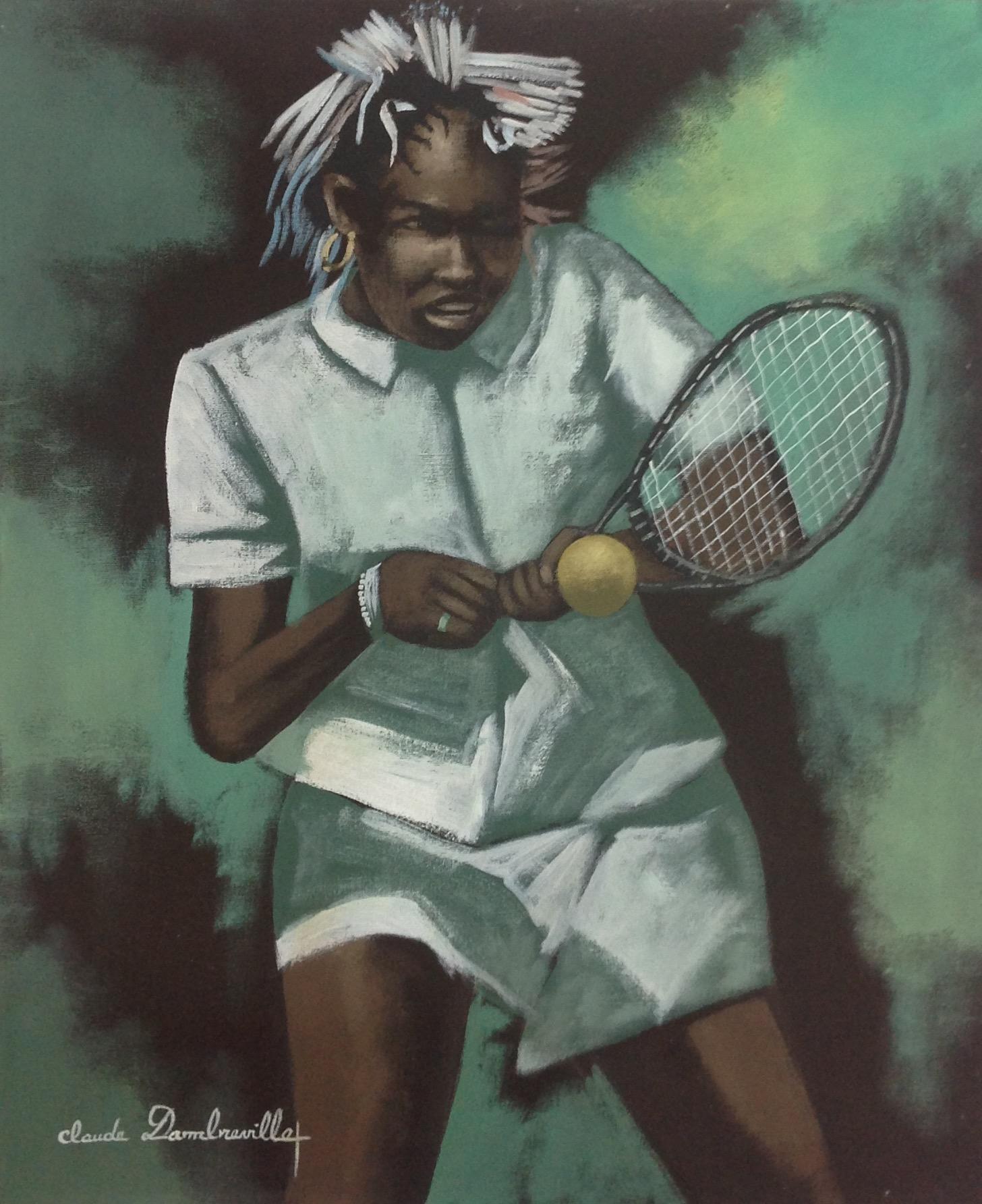 Dambreville Claude 20X24 #258-3-96 canvas 1999