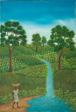Jn Baptiste Lyonel 24X16 #18-3-96 Canvas